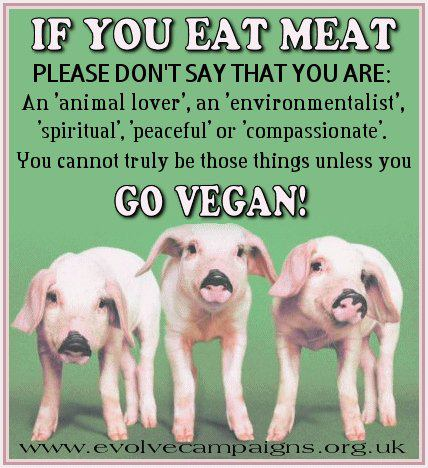 if you eat meat