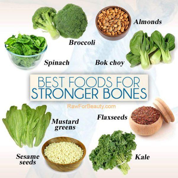 want stronger bones